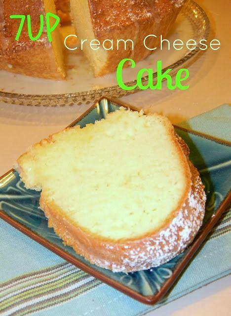 7 Up Cream Cheese Cake Cream Cheese Cake Recipes Pound Cake Recipes Cream Cheese Pound Cake Recipe