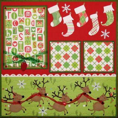 Avid Scrapper: December's Scrapbook Pages Scrapbook Layout Sketches, Scrapbook Templates, Scrapbook Designs, Scrapbooking Layouts, Baby Scrapbook Pages, Scrapbook Cards, Scrapbook Frames, Christmas Scrapbook Layouts, Christmas Layout