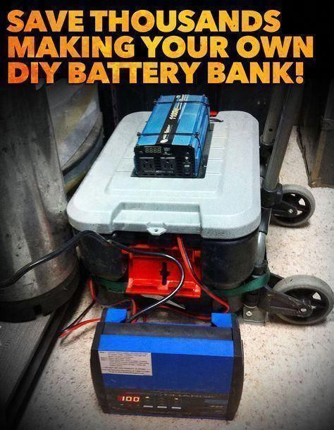 Aims 6000 Watt 48v Inverter And Battery Bank Whole Home Uninterrupted Backup 1 5 Of 3 Update Youtube Battery Generator Battery Bank Battery Backup