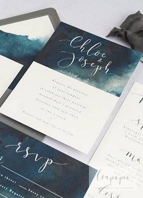 Aquarell Hochzeitseinladungen Einladung Geburtstag Calligraphy