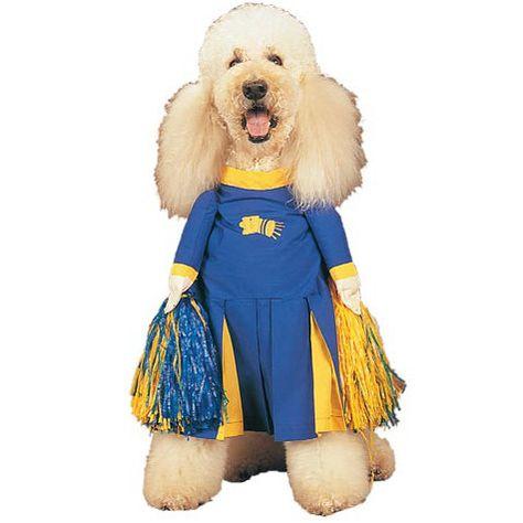 Cheerleader Dog Costume Pet Costumes Dog Costumes Dog Halloween