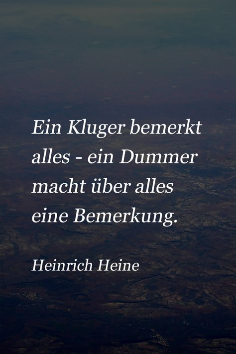 Zitat von Heinrich Heine über die Menschen