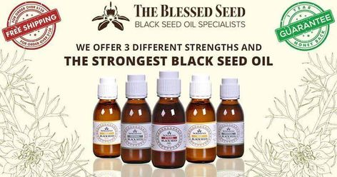 Black Seed Oil Dosage - The Blessed Seed