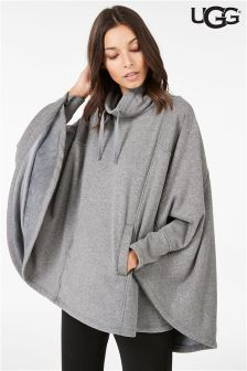 9f4f2ba70f9 UGG® Charcoal Heather Pichot Double Knit Fleece Poncho   FALL/Winter ...