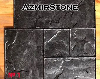 Plastic Molds For The Manufacture Of 3d Panels Stone De Azmirstone In 2020 Stamped Concrete Concrete Cement Texture