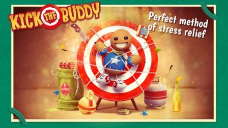 Kick The Buddy Hack Unlimited Gold And Bucks Kick The Buddy Cheats Shoot Him With Pistols And Rifles Explode Grenades And Anger Management Games Kicks Buddy