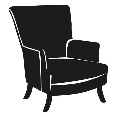 15 Furniture Icon Transparent In 2020 Furniture Wingback Chair Flat Icon