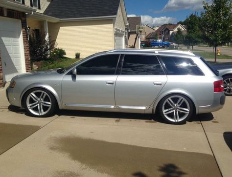 Audi Allroad Avant Wagon C5 The Body Style Was Made 2001 2002 2003 2004 2005 Using The S4 6 8 Cylinder 2 7 Twin Turbo A6 Audi Allroad Audi Wagon Audi