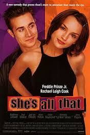shes all that - awes shes all that - awesome movie (odd that she ended up in Psych with Dule hill)