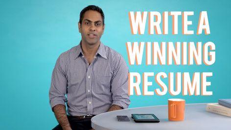 How to Write a Winning Resume, with Ramit Sethi resume tips
