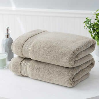 Charisma 100 Hygrocotton 2 Piece Bath Towel Set In 2020 Towel Set Bath Towel Sets Bath Towels