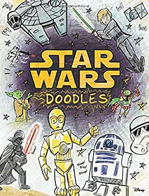 Amazon Com Doodle Book Star Wars Marvel In 2020 Star Wars Printables Star Wars Crafts Star Wars Classroom