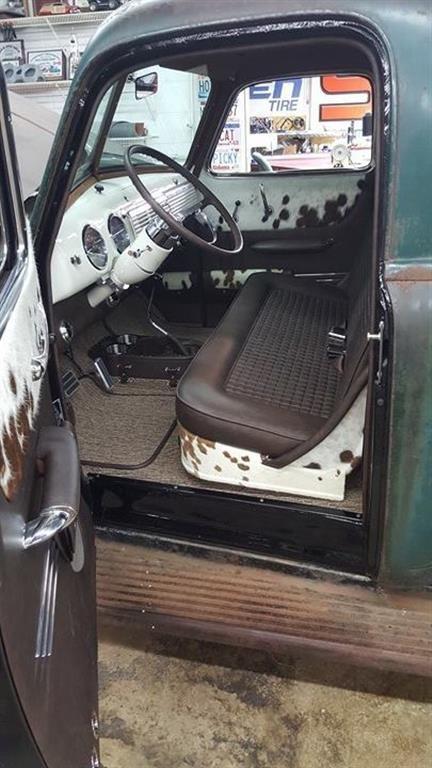 1953 Chevrolet Truck Leather Custom Interior Interiors By Shannon Truck Truck Chevy Truck Interior Custom Car Interior Chevy Trucks