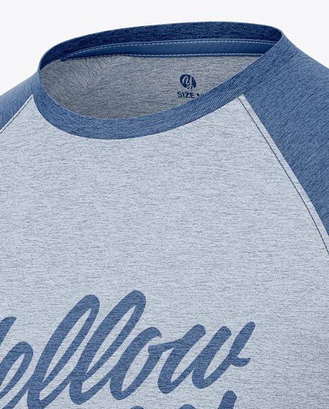 Download Men S Heather Raglan Long Sleeve T Shirt Mockup Half Side View Present Your Design On This Mockup Include Clothing Mockup Shirt Mockup Raglan Sleeve Shirts