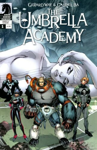 THE UMBRELLA ACADEMY: DALLAS #1 - JIM LEE COVER VARIANT - GERARD WAY -  NETFLIX | Dark horse comics, Umbrella, Gerard way