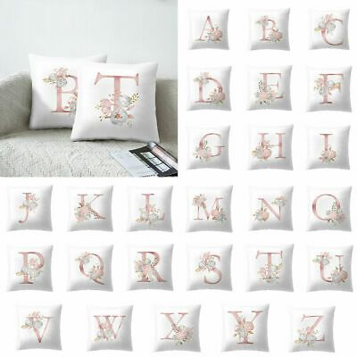 letter pillow cushion cover