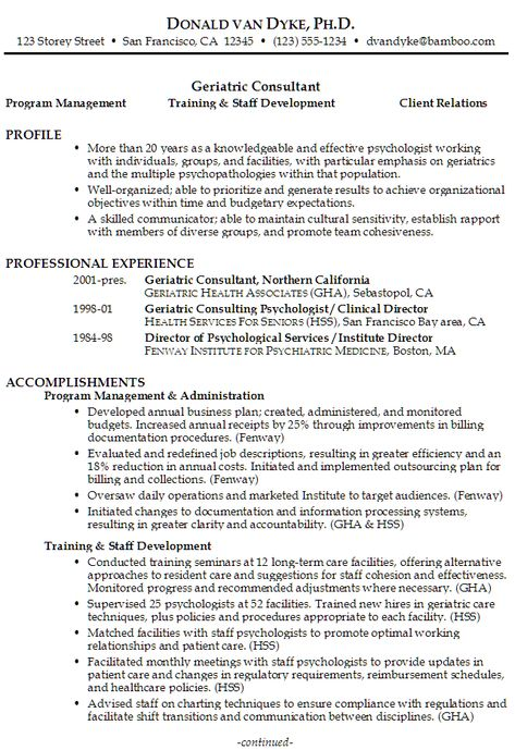 Training Consultant Resume Sample  HttpWwwResumecareerInfo