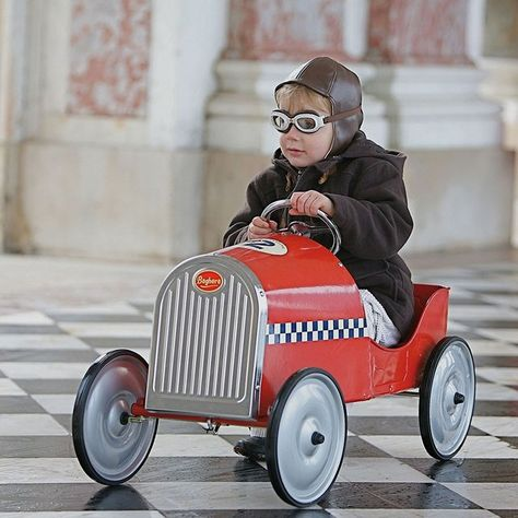 Monaco Pedal Car by Baghera #Car, #Cool, #Fun, #Kids, #Retro, #Toy, #Vintage