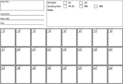 Thumb 24 Track Sheet Jpg Song Sheet Sheet Songs