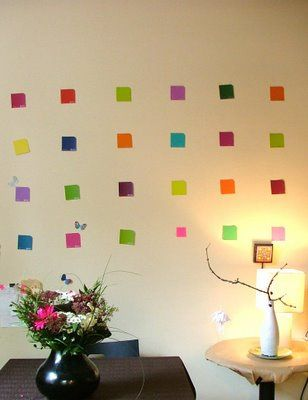 Paint Chip Samples and Swatches | Two Hearts Together #diy | Stuff ...