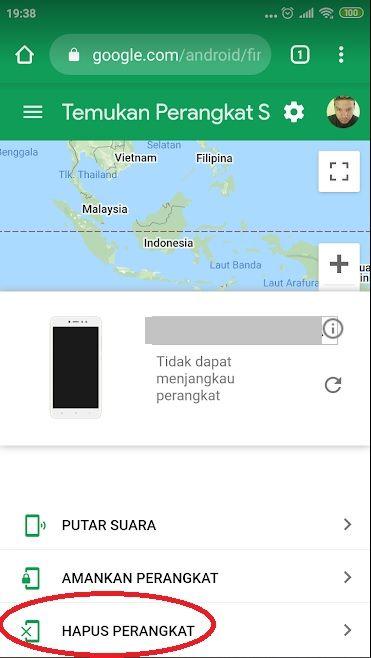 Hapus Pola Oppo A3s Online Aplikasi Android Perbaikan