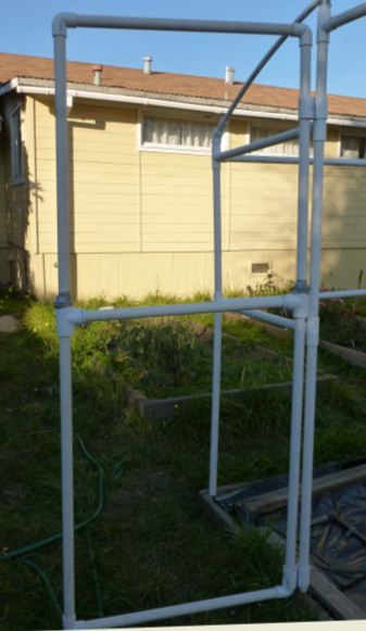 building a pvc greenhouse pvc greenhouse gardens and green houses - Pvc Frame Greenhouse Plans