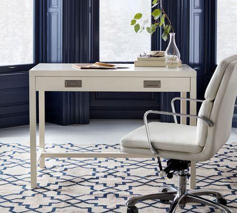 Lonny Desk In 2019 Leach Phase 2 Desk White Desks Office Desk