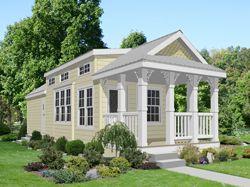 Cape Cod Hip roof designs Park Model Home | Future Home ...