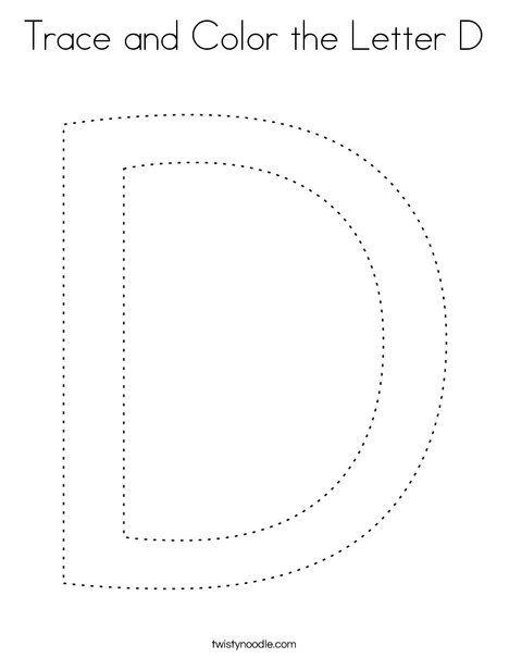 Twisty Noodle Letter D Images