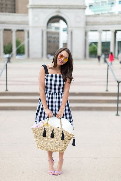 Picnic Pretty - Fresh Gingham Outfit Ideas Perfect for Summer - Photos