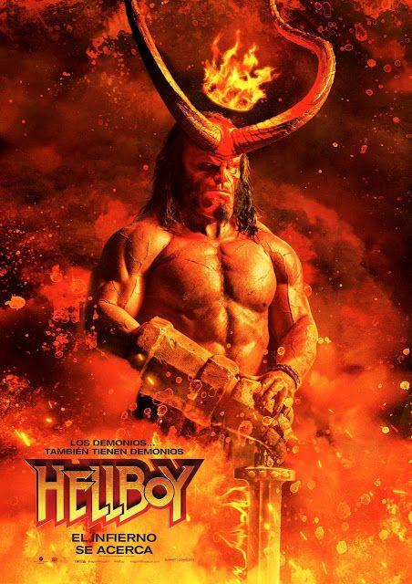 Lima Vaga Mira El Trailer Y Afiche Oficial De Hellboy Película Hellboy Peliculas En Español Carteles De Películas