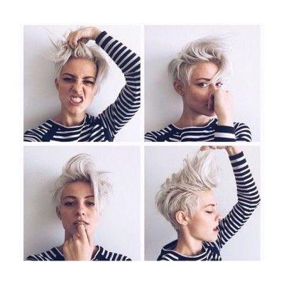 Brittenelle Tumblr Short Hair Styles Hair Styles Pixie Haircut For Thick Hair