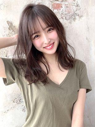 2019年春 セミロングの髪型 ヘアアレンジ 人気順 44ページ目
