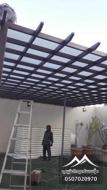 برجولات رؤية الافضل للمظلات والسواتر 0507020970 Pergola Outdoor Structures Outdoor