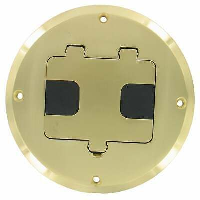 Details About Raco 5 5 16 In H Round 1 Gang Floor Box 1 2 In Brass Brown In 2020 Floor Outlets Flooring