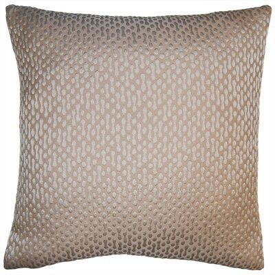 Square Feathers Sand Pebbles Pillow In 2020 Pillows Sand Collection Pillow Covers