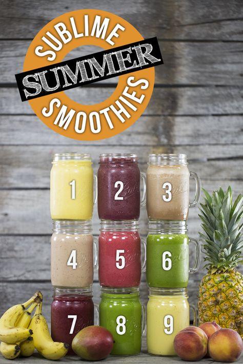 9 Sublime Summer Smoothies | Blendtec Blog