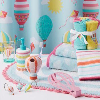 7 New Kids Bathroom Ideas, Hot Air Balloon Bathroom Decor