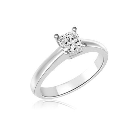 Anello Di Fidanzamento Solitario Con Diamante 18ct Oro Bianco R841 Infinity Of London Jewellery Anelli Di Fidanzamento Diamante Anelli Con Diamanti