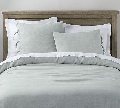Belgian Flax Linen Duvet Cover With Ties Bed Linen Design Bed Linens Luxury Luxury Bedding