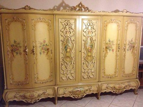 Camera da letto stile barocco veneziano | Interni - interior ...