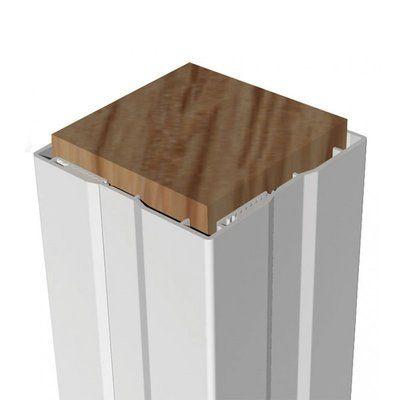 Xpanse 10 Ft H X 4 In W Post Wrap Vinyl Railing Deck Posts Flat Design