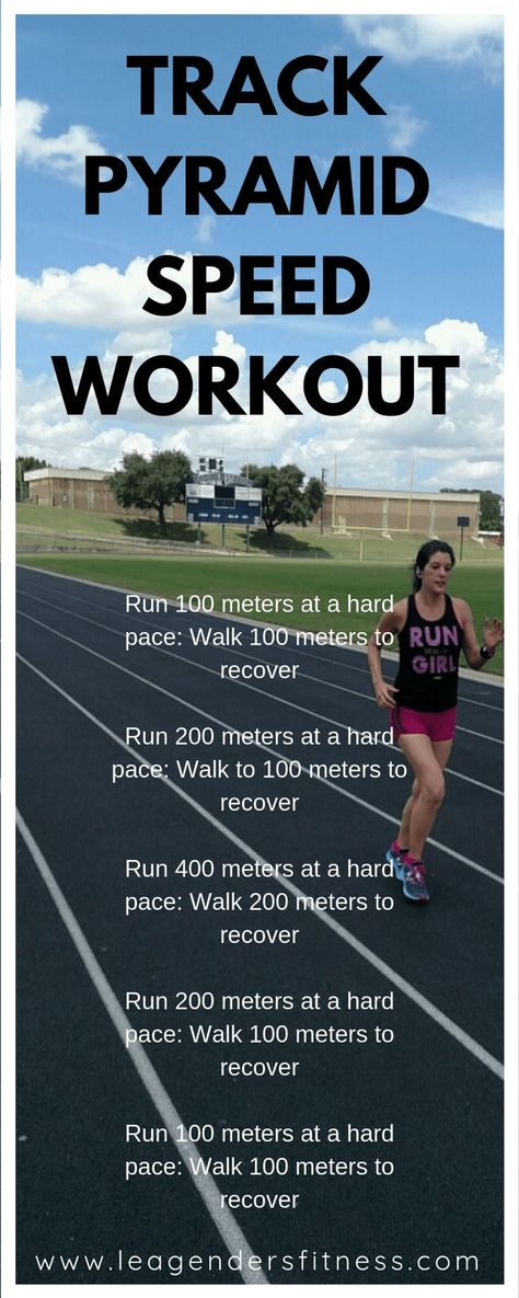 track pyramid speed workout running plan running day outfits running form to run a marathon for weight loss eating recipes for weight loss for beginners to begin running fast weight loss Running Workout Plan, Speed Workout, Running Tips, Track Sprint Workout, Workout Plans, Running Track, Running Plans, Running Schedule, Running Drills