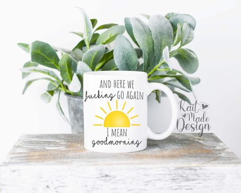 This mug is a super awesome addition to your cabinets! 11oz and 15oz mug options! Dishwasher and Microwave safe There's plenty of room between the handle and cup itself,the large handles make these cups a convenient choice for carrying around your coffee, tea, cocoa, hot chocolate etc.