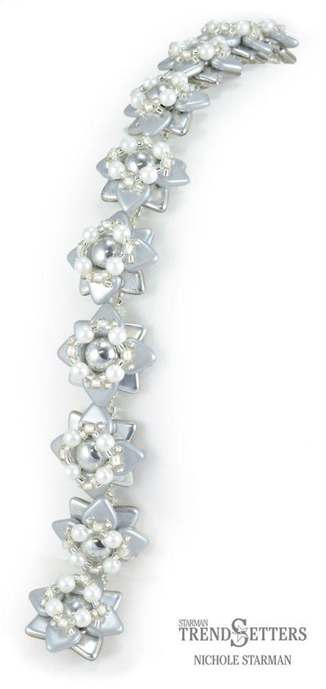 Silver Star Bracelet Tutorial