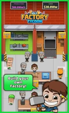 Idle Factory Tycoon 1 34 1 Apk For Android Factory Simulation