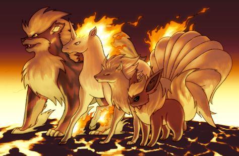 Arcanine, Ponyta, Ninetales and Flareon best gen 1 nonstarters