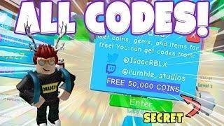 ALL CODES IN BUBBLE GUM SIMULATOR! (Roblox) | Roblox Games