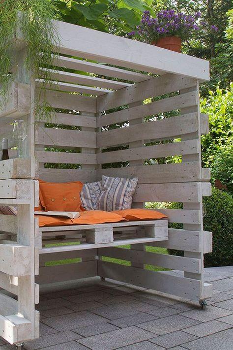 Bouw zelf een strandstoel van pallets #poolselberbauen Bouw zelf een strandstoel van pallets