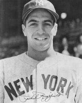 On December 18 1956 Former Yankee Phil Rizzuto Signs To Become A Radio Announcer For The Club Holy Cow New York Yankees Baseball Ny Baseball New York Yankees